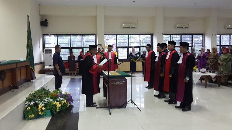 Pengambilan Sumpah, Pelantikan, dan Serah Terima Jabatan Ketua Pengadilan Negeri Sengkang