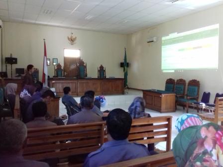 Sosialisasi SIPP V.3.2.0 Pengadilan Negeri Sengkang