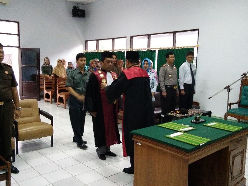 Pengambilan Sumpah Dan Pelantikan Jabatan Wakil Ketua Pengadilan Negeri Sengkang