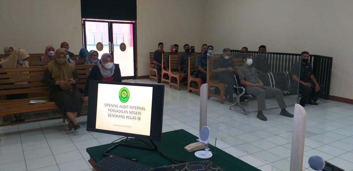 PN Sengkang Gelar Open Meeting Audit Internal