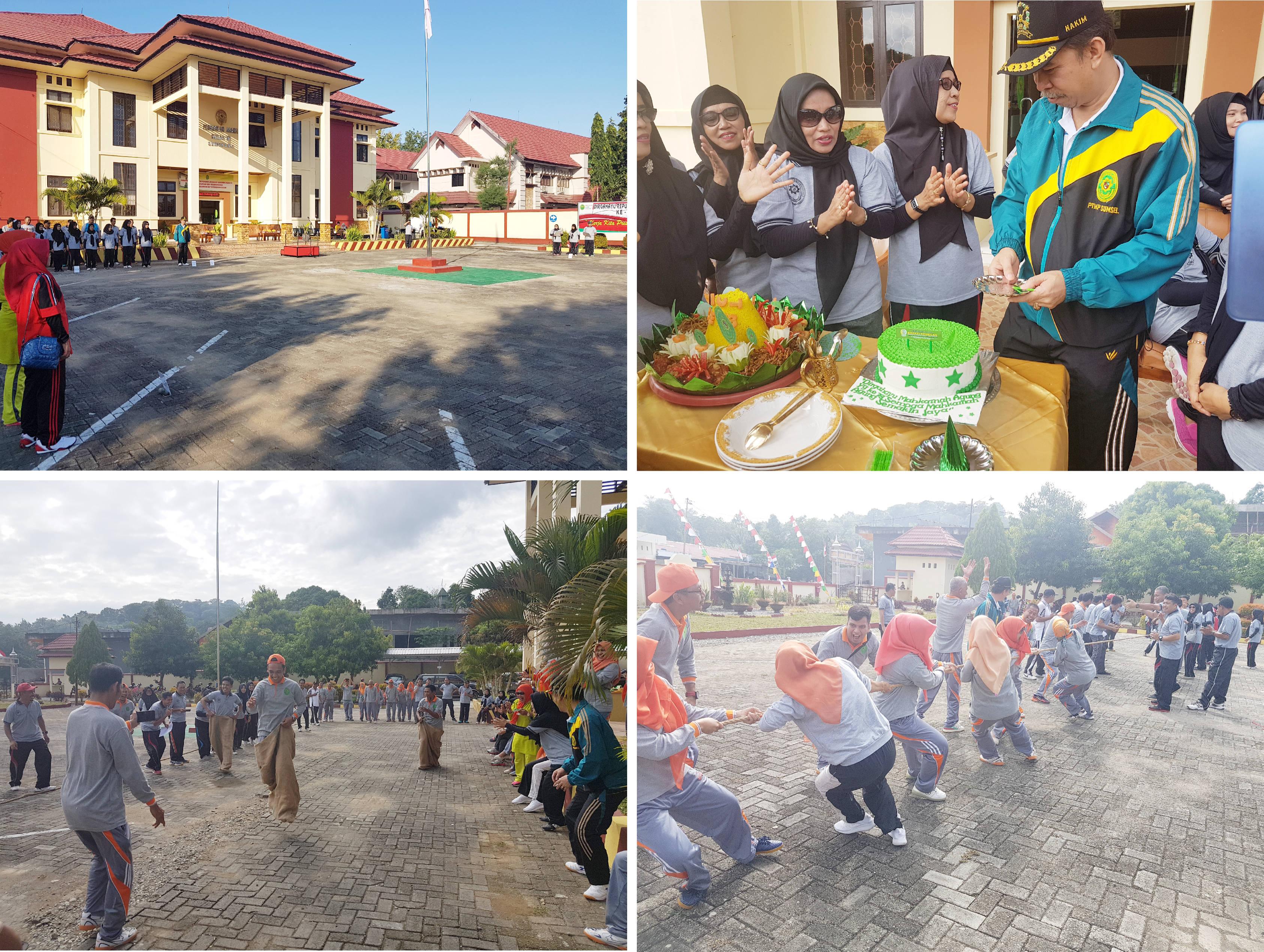 UPACARA PERINGATAN HUT MAHKAMAH AGUNG RI KE-73 TAHUN 2018
