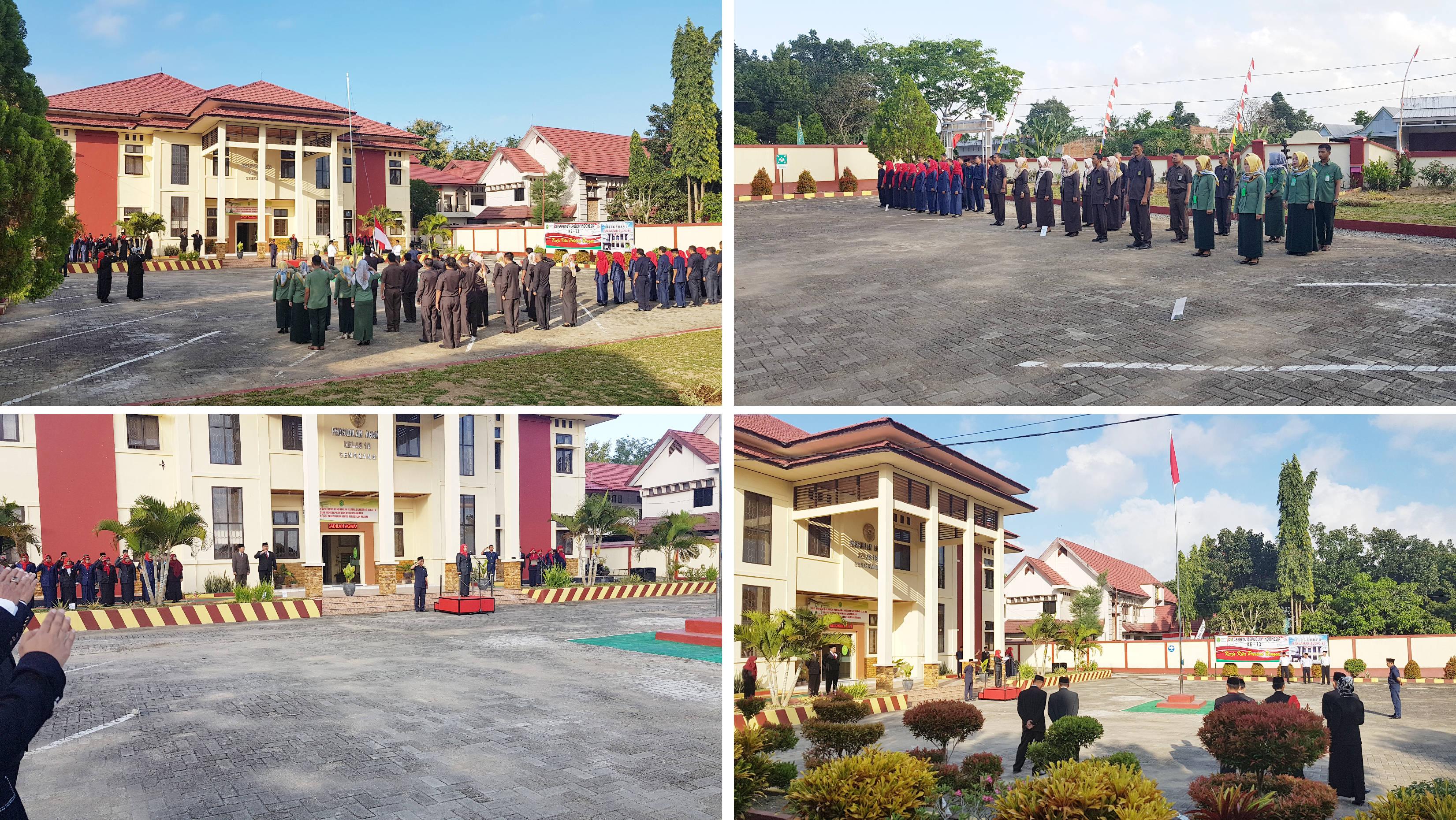 UPACARA PERINGATAN HUT REPUBLIK INDONESIA KE-73 TAHUN 2018