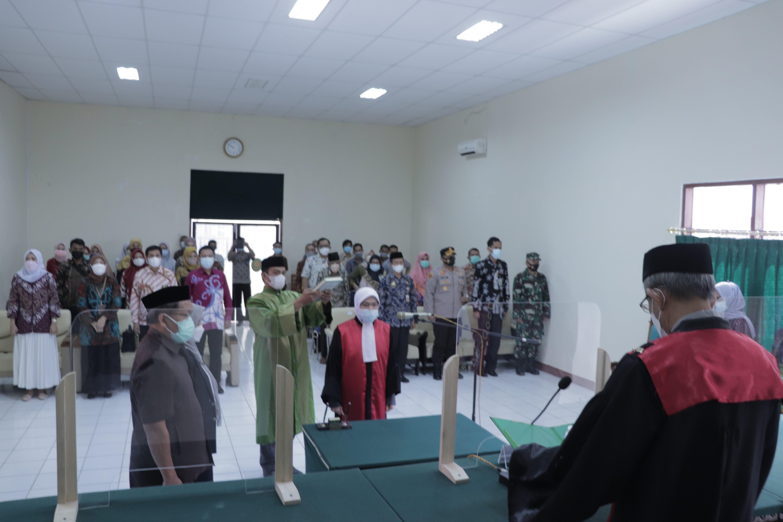 Pengambilan Sumpah Jabatan dan Pelantikan Wakil Ketua PN Sengkang